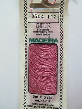 Madeira Silk Floss Art. 018 - 0504 L12