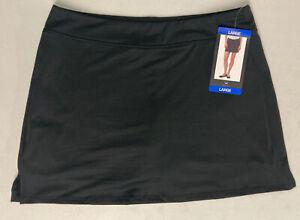 New TRANQUILITY COLORADO CLOTHING Yoga Golf SKORT SKIRT Black Medium M Wicking