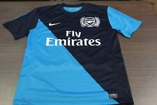 Arsenal Gunners Nike Dri-Fit Men's Blue Soccer Jersey - Medium