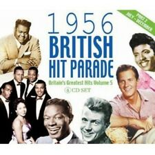 Vol. 2-1956 British Hit Parade - British Hit Parade (2011, CD NIEUW)4 DISC SET