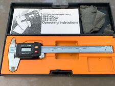 "Fowler & NSK MAX-CAL 6"" Electronic Digital LCD Caliper"