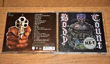 Metal-CD-Sammlung: Body Count – Body Count, 1992, incl. Cop Killer – sehr gut