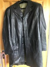 Genuine Versace Classic V2 Soft Leather Coat Size 48