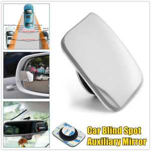 1×Infinity Wide-angle Car Rearview Mirror Frameless Blind Spot Auxiliary Mirror