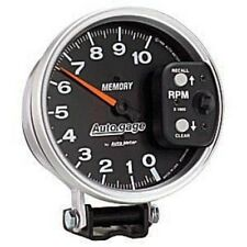 "Auto Meter 233902 5"" Auto Gage Mechanical Tachometer 10,000 RPM with Peak Memory"