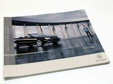 2005 Mercedes-Benz CLK 320 CLK 500 CLK 55 AMG Coupe Sales Brochure Manual
