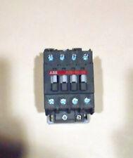 """(4 Pcs ) """"USED"""" ABB A26-40-00,4 POLE  CONTACTORS 24V 50/60 Hz,600Vac MAX"""
