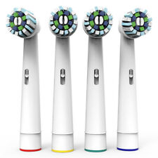 4pcs Electric Tooth Brush Replacement Heads Fit Braun Oral-B Cross Action EB-50