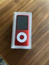 apple ipod nano 4 generation 16GB Neu Red Sonderedition