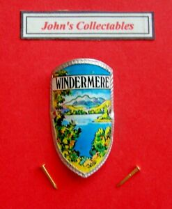 COLLECTABLE WINDERMERE WALKING / HIKING STICK BADGE  / MOUNT M1