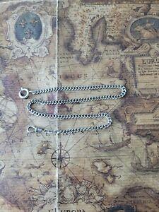 edle 835 Silber Taschenuhrenkette Länge 35 cm Gewicht 11,5 Gramm