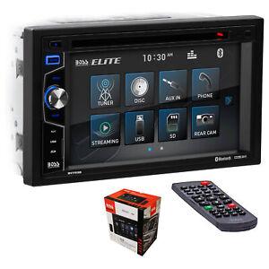 "BOSS 2 Din 6.2"" Touchscreen Bluetooth Radio w/ DVD/CD/USB/SD, FM/AM, MP3, & VCD"