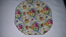 Vintage Lord Nelson Ware Chintz China ROSE TIME Salad Dessert Plate 6 5/8""