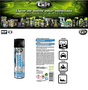 Graisse Blanche 250 ml GS27 Multi-usage   avec prolongateur