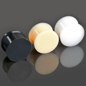 0 1/8-0 7/8in Plug Retainer Flesh Tunnel Silicone Hider Ear Piercing Z270