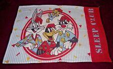 Looney Tunes Pillow Case Vtg Sylvester Tweety Bugs Daffy Duck Sleep Club 1989