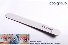 Professional Quality Nail Files Acrylic Gel Tips Choose your grits STRAIGHT
