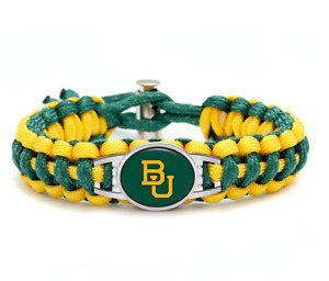 BU Bears Bracelets,BU Stack Bears Bracelets Red and Black Baylor University Bracelet,College Bracelets,Set of 3 Seed Beads Bracelet