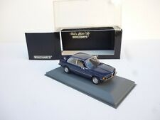 1:43 Diecast MINICHAMPS BMW 318 3 SERIES SALOON 1975 - 83 // NM BOXED DARK BLUE