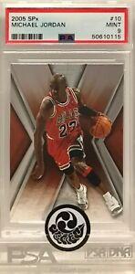 2005 NBA Upper Deck SPx #10 Michael Jordan Graded PSA 9 MINT