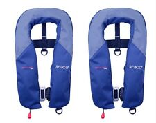 2 X Seago Seaguard 165N Automatic Lifejacket With Harness - Sailing GS17A