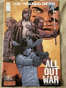 Image THE WALKING DEAD #115 Midnight Release Variant M/ Low Print MINT 🔥