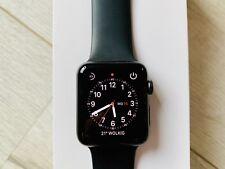 Apple Watch Series 3 GPS + Cellular, 42mm, Aluminium, Space Grau, OVP