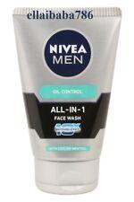 3X Nivea Men All In 1 Oil Control Face Wash - 100 Gram