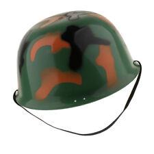 Kids Camouflage Soldier Costume Army Helmet Halloween Fancy Dress Costume