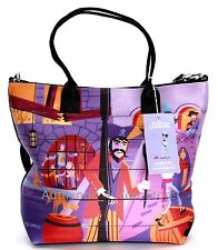 NEW Disney Harveys D23 Shag Pirates of the Caribbean Ride Tote Purse Bag NWT