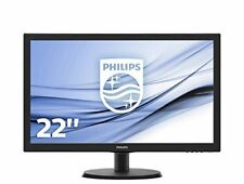 Philips V-line 223v5lsb 21.5 inch LCD Full HD Widescreen Monitor #0427