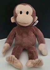 """Kohls Cares Curious George Monkey Stuffed Plush Animal 17"""" soft (4)"""