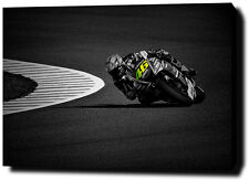 """VALENTINO ROSSI  30""""x20"""" CANVAS PRINT POSTER PHOTO PICTURE MOTOGP WALL ART"""