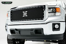 T-REX X-Metal Series Grille 1 Piece 2014-2015 GMC Sierra 1500 6712081 Black