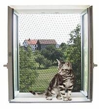 Transparent Cat Safety Net 4x3m For Balconies Terraces Window Weather Resistant