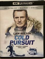 COLD PURSUIT 4K ULTRA HD BLU RAY 2 DISC SET FREE WORLD WIDE SHIPPING BUY IT NOW