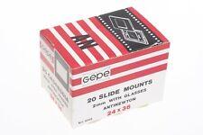 20 GePe 2mm Anti-Newton Glazed 35mm slide mounts Art. 6002