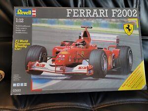 Rare! Revell Ferrari F2002 1:12 07493 Mint Unbuilt.