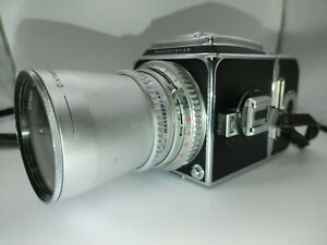 Hasselblad 500 cm w/1:4 50mm Carl Zeiss Lens, A12 Film Back and PME Prism Finder
