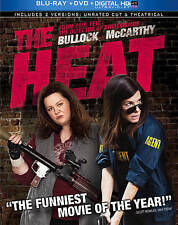 THE HEAT (Blu-Ray Disc + DVD + Dig. Copy), BRAND NEW (FREE SHIP!) Sandra Bullock