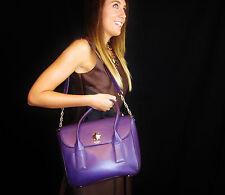 Kate Spade Stunning DEEP PURPLE Bond Street Florence Shoulder Bag & wallet set