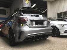 W176 2012 up carbon fiber rear diffuser A250 A45 AMG-revo wing lip gt bumper bar