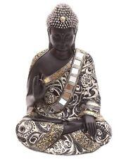 Thai Buddha Figur sitzend Statue buddhistisch Skulptur Statue Thailand Deko 30cm