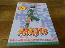 MANGA - Plan média / Press kit !!! NARUTO VOL 4 !!!