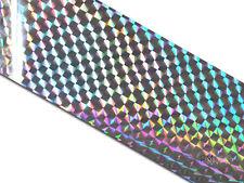 Transferfolie Folie 20cmx 6cm Nailart Silber #00330-56
