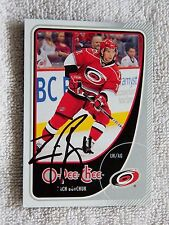 Carolina Hurricanes Zach Boychuk Signed 11/12 O-Pee-Chee Card Auto
