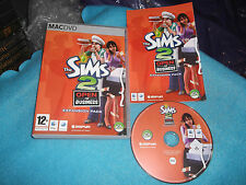 THE SIMS 2 Open For Business EXPANSION PACK APPLE MAC / DVD v.g.c. POST VELOCE