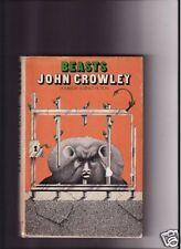 John Crowley-1976-BEASTS- 1st Ed, DJ, 2nd Book, A+