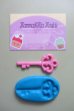 XL KEY SILICONE MOULD for Sugarcraft Cake Topper Fimo Cernit Cupcake