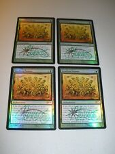 MTG Magic Artist Signed Foil Judge Promo Doubling Season x4 LP/NM